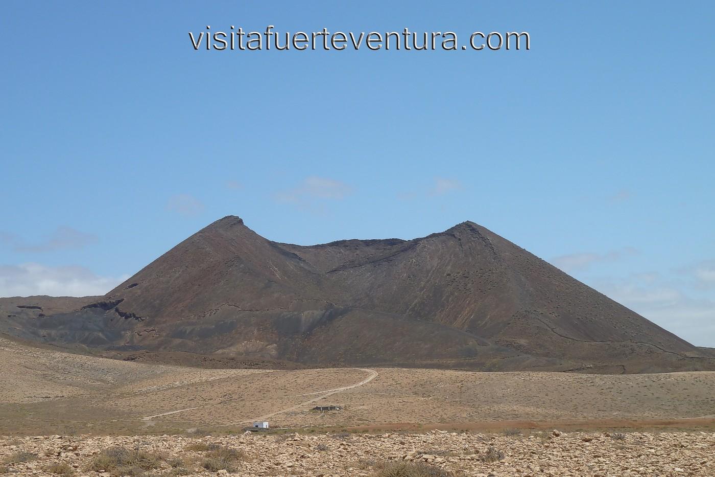 Volcanoes In Fuerteventura Gairia Volcano