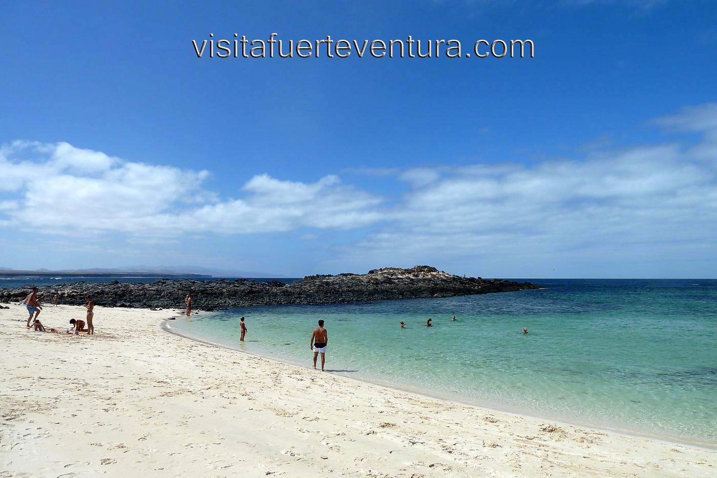 La Concha Strand, El Cotillo, Fuerteventura
