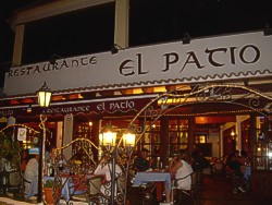 El Patio Restaurant in Caleta de Fuste, Fuerteventura.