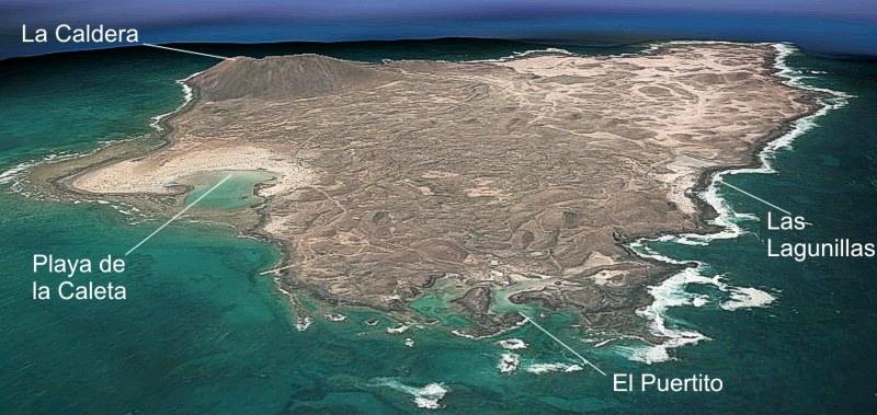 Isla De Lobos Mapa.Parque Natural Isla De Lobos Espacios Naturales En